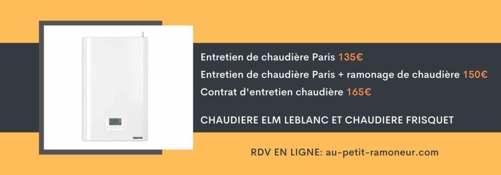 Entretien de chaudière Paris 75020