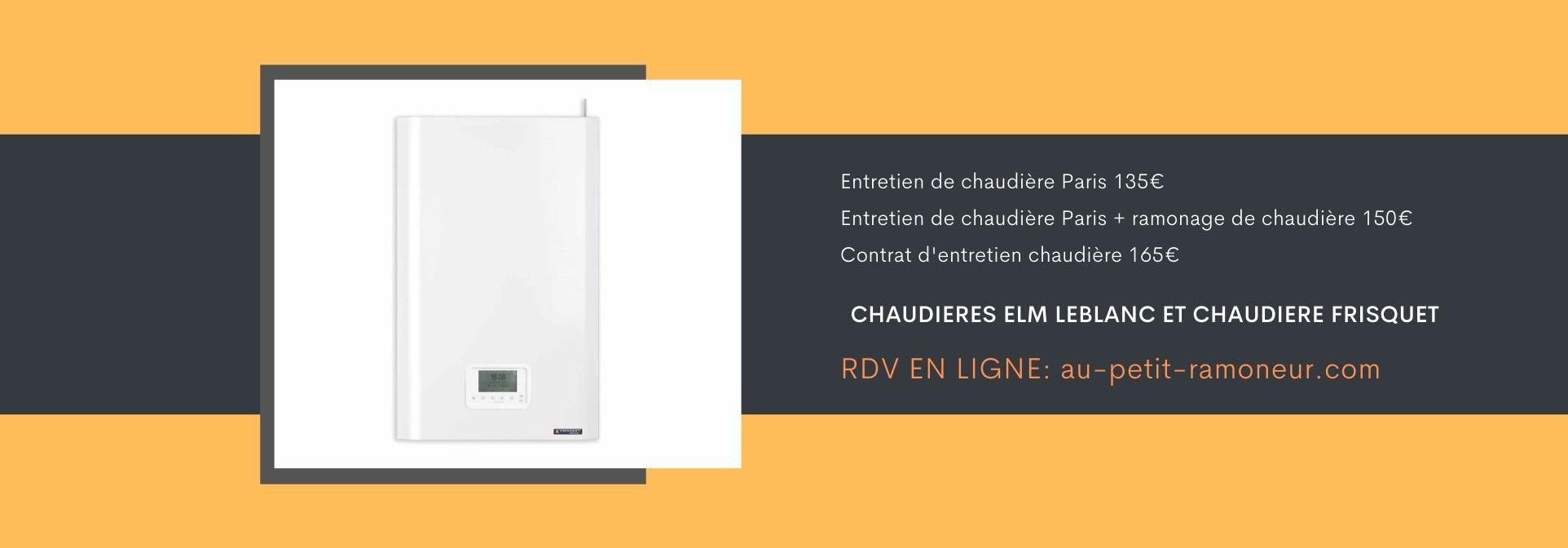 Entretien de chaudière Paris 75015